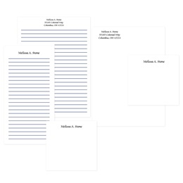 Personalized Classic Memo Pad Assortment