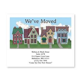 We've Moved to a New Neighborhood New Address Postcards
