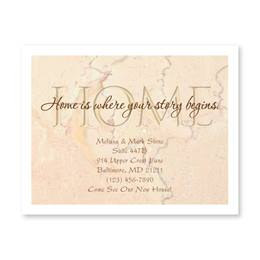 Home is Your Story New Address Postcards
