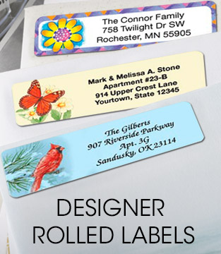 Designer Rolled Labels