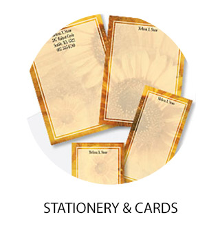 Custom Stationery Sets