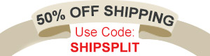 Get 50% Off Shipping