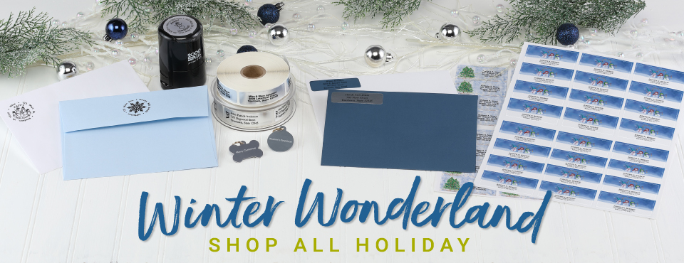 Winter Wonderland. Shop All Holiday.