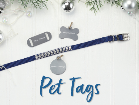 Christmas Pet Tags